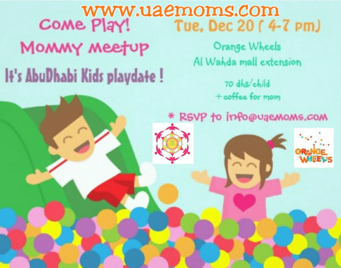 Play Date | Winter Break | Orange Wheels | UAE MOMS | #1 Social Community Group for all Women in UAE