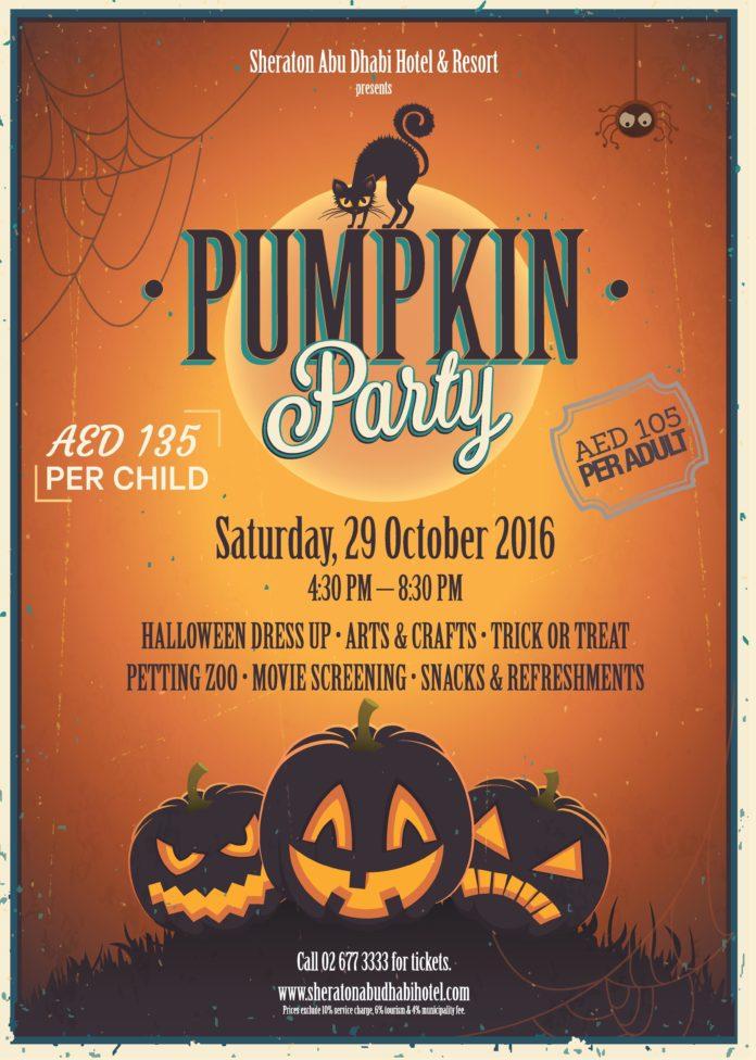 Pumpkin Party by Sheraton Abu Dhabi hotel & resort | UAE MOMS | #1 Social Community Group for all Women in UAE