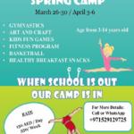 Gymnastics spring camp