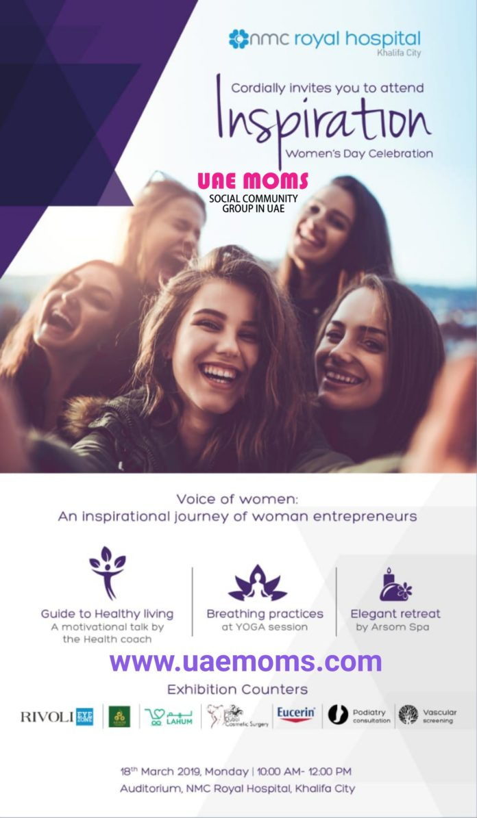 UAE Moms NMC Women's Day Event