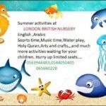 London British Nursery - Sharjah summer camp