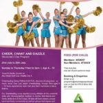 Cheer leader camp
